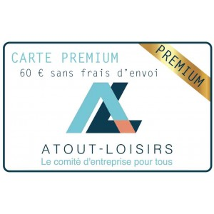 Carte adhésion Premium 1 an